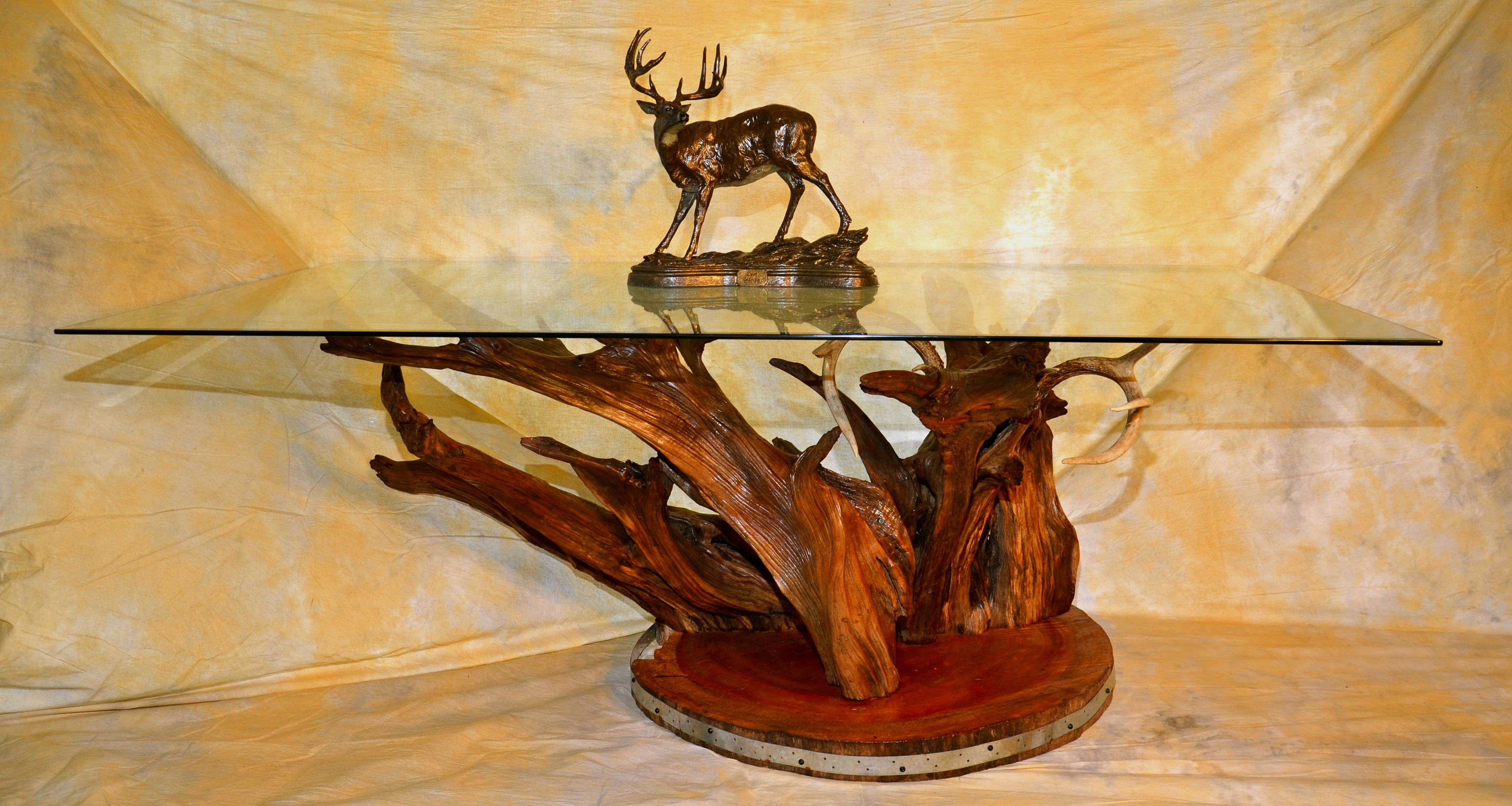 Tree Stump Dining Table