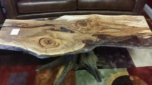 stump tbl w maple slab 2